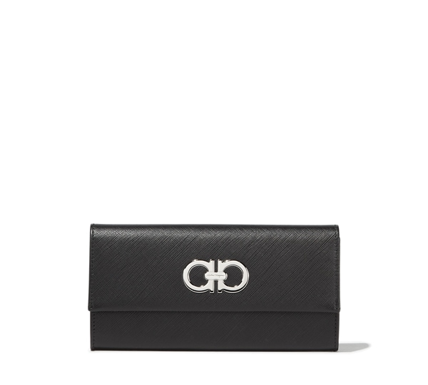 Double Gancio continental wallet