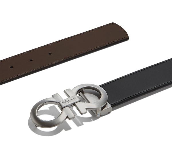 Cinturón reversible y ajustable - Cinturones - CABALLERO - Salvatore ... e7b9bf72f3