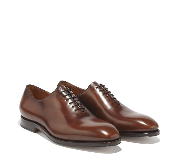 Plain toe Oxford Shoe