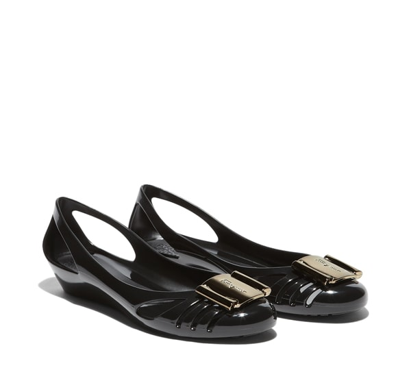 Salvatore Ferragamo Jelly Flat Shoes