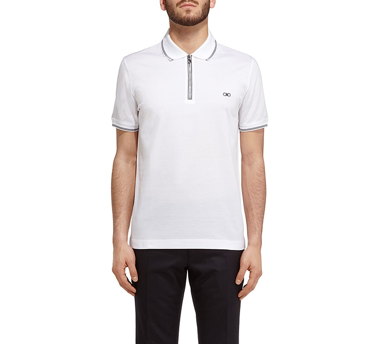 Zip front polo | Tuggl