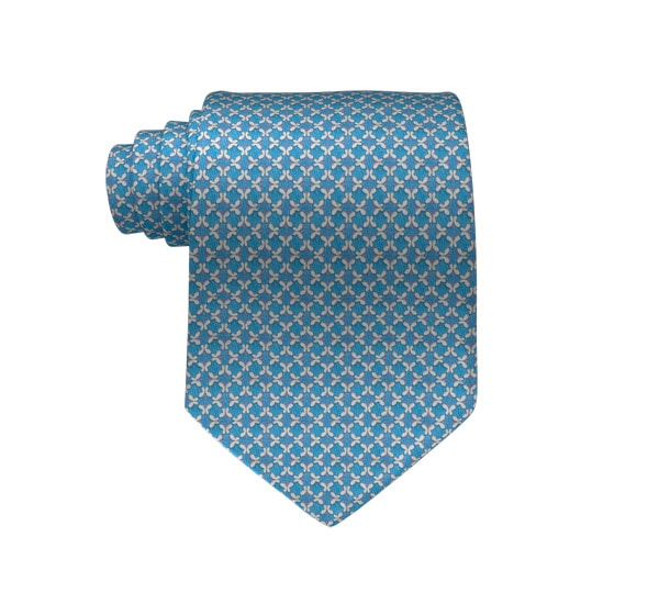 Micro Butterfly Printed Tie