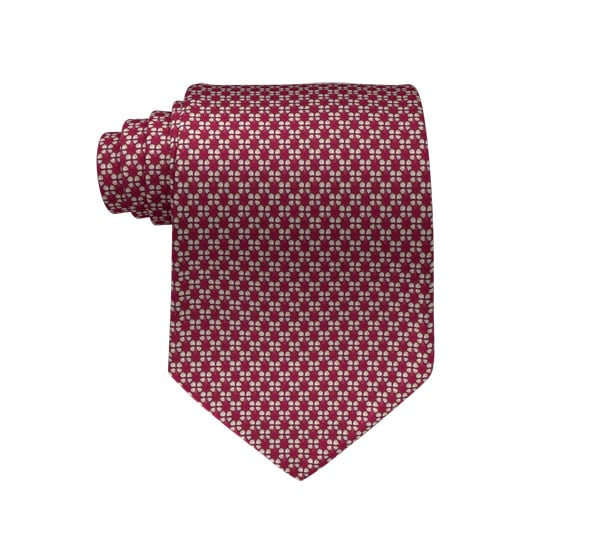 Clover Printed Tie