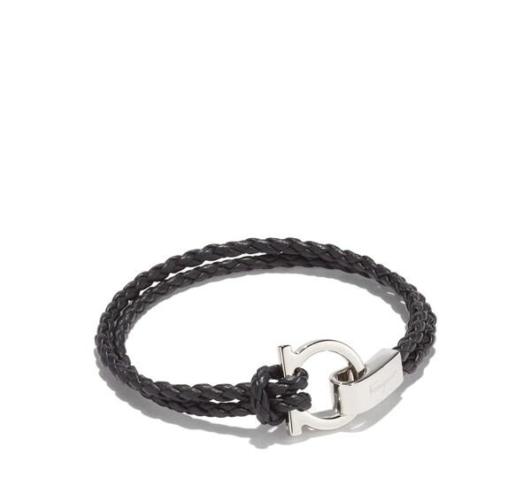 Double Wrap Bracelet with Gancio Hook Closure