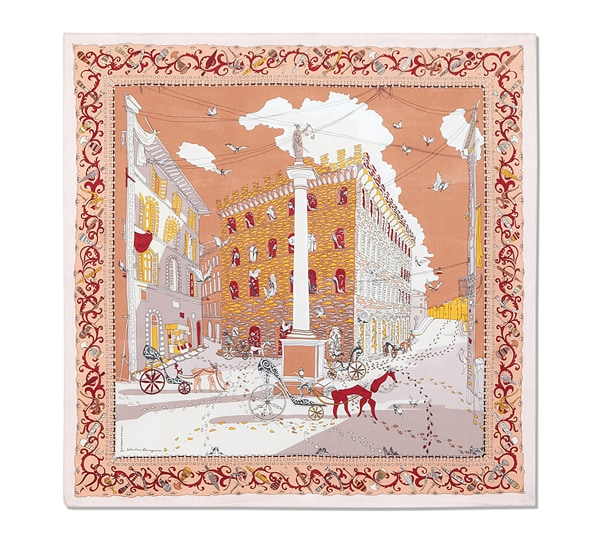 Palazzo Spini-Feroni Print Scarf