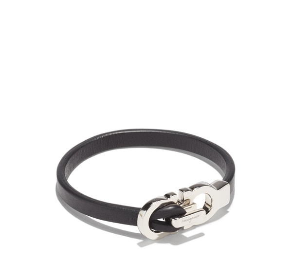 Double Gancini Bracelet (Large)