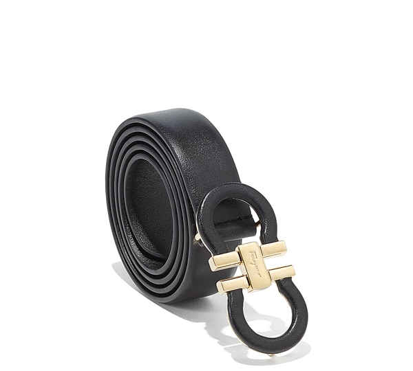 Double Leather Gancio Belt
