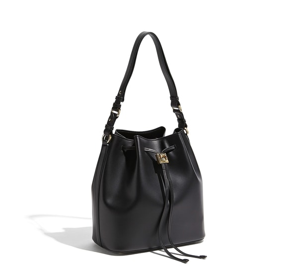 Bucket Drawstring Shoulder Bag