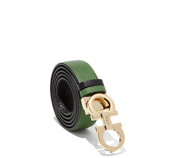 Medium Double Gancio Belt
