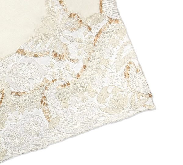 Butterfly embroidered Scarf