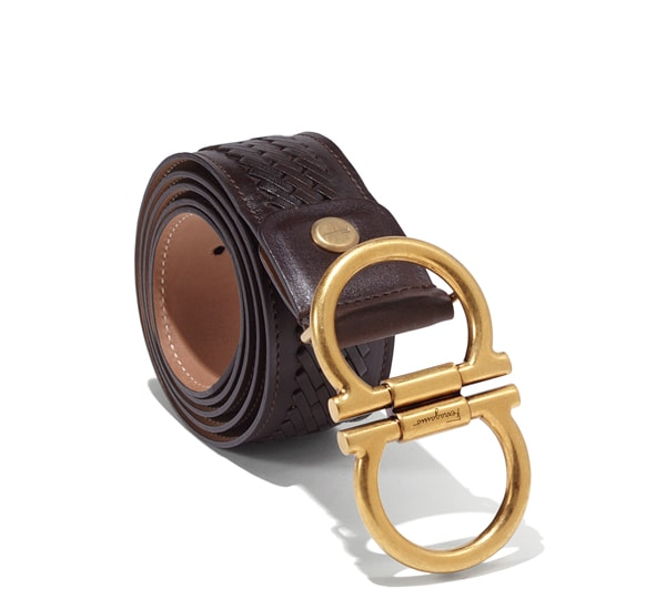 Double Gancini Belt