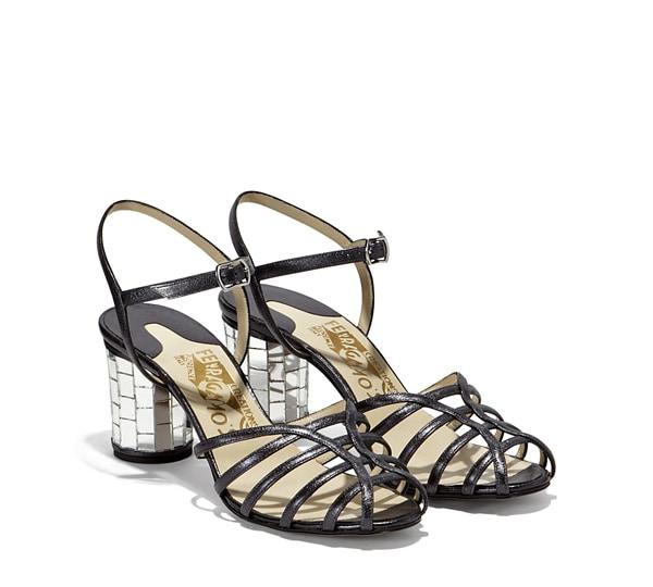 Mirrors sandal