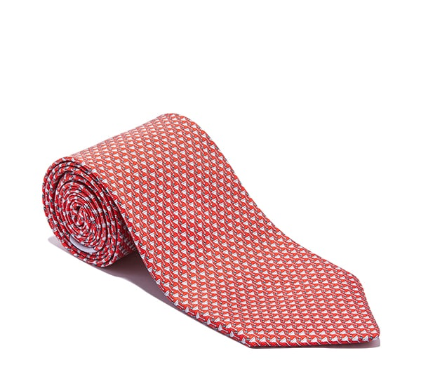 Cocktail Glass Printed Tie