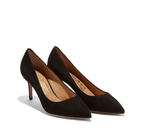 Mid Heel Stiletto Pump