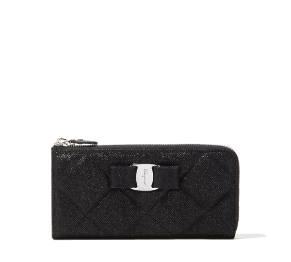 Vara Quilted Continental Wallet