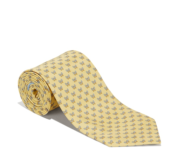 Butterfly Printed Tie