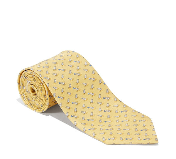Dolphin Printed Tie