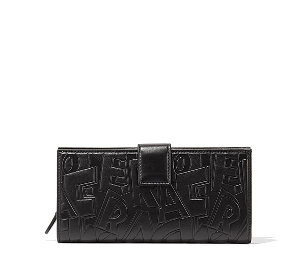 Ferragamo embossed continental Wallet