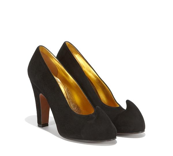 Gala pump shoe