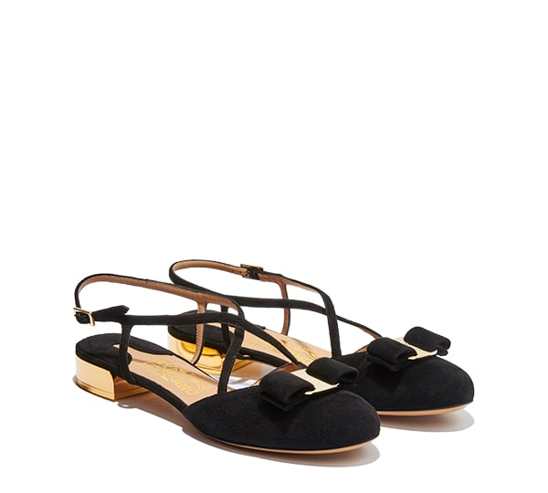 Sandal with Vara bow