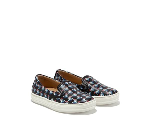 Mini slip-on sneaker