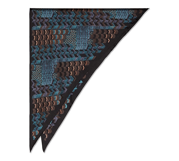Patchwork Triangle Scarf