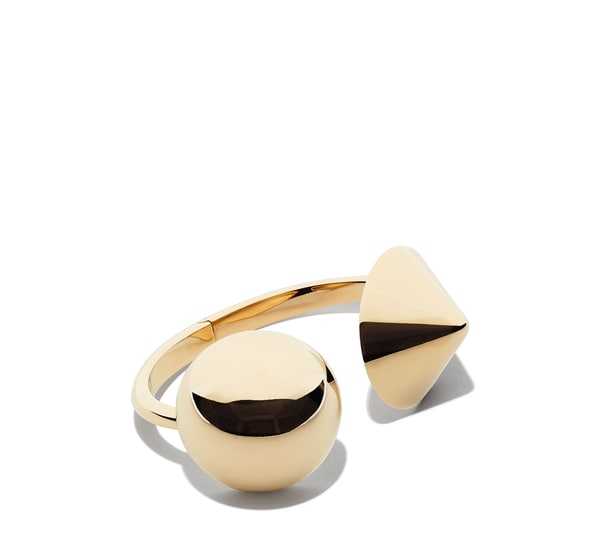 Sphere and Cone Bracelet