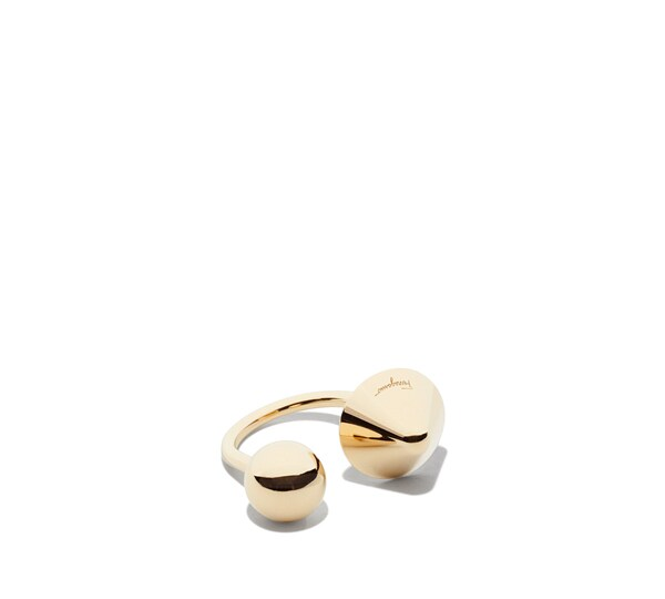 Sphere and Cone Ring size M