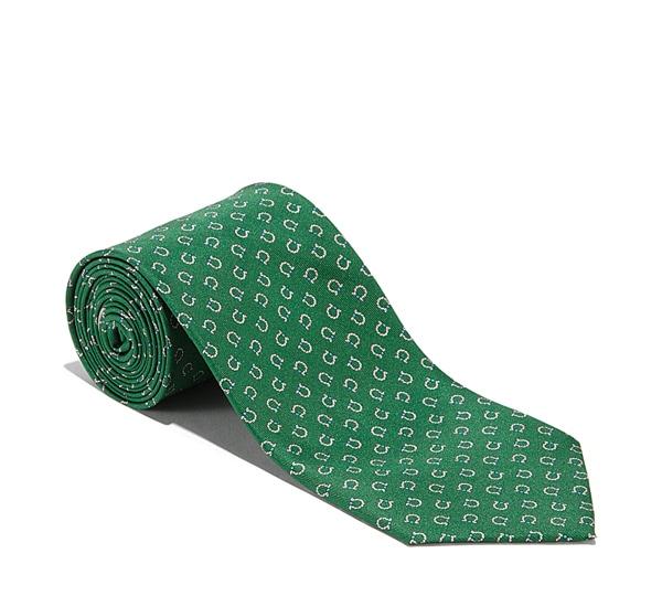 Micro Rope Gancini Printed Tie