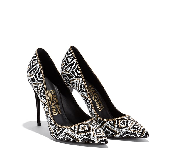Mosaic Pump shoe