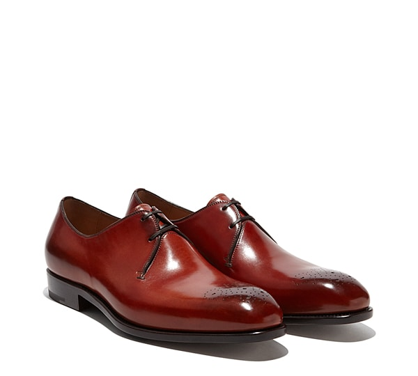 Plain-toe Oxford