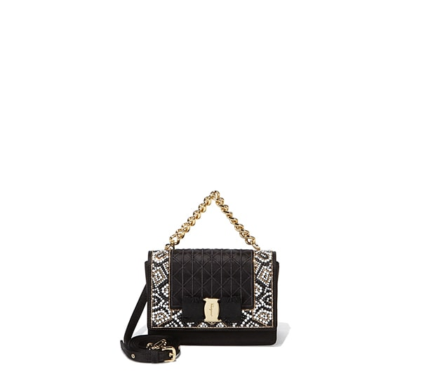 Mosaic Medium Vara Flap Bag
