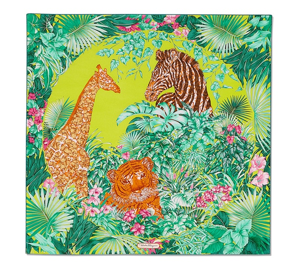 Jungle Print Scarf