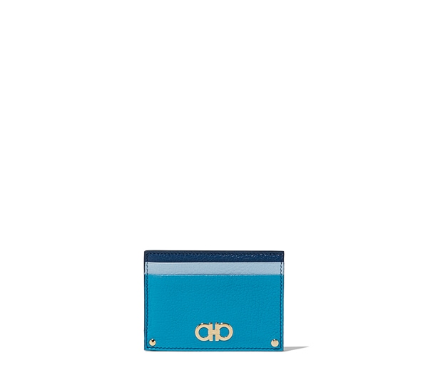 Double Gancio credit card case