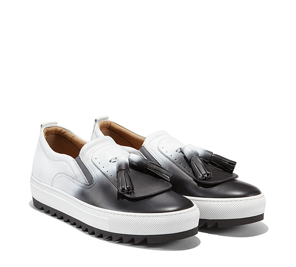 Sneaker slip on con nappine