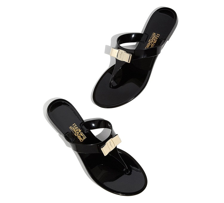 5338c23b9eb7 Vara Bow Jelly Thong - Shoes - Women - Salvatore Ferragamo US