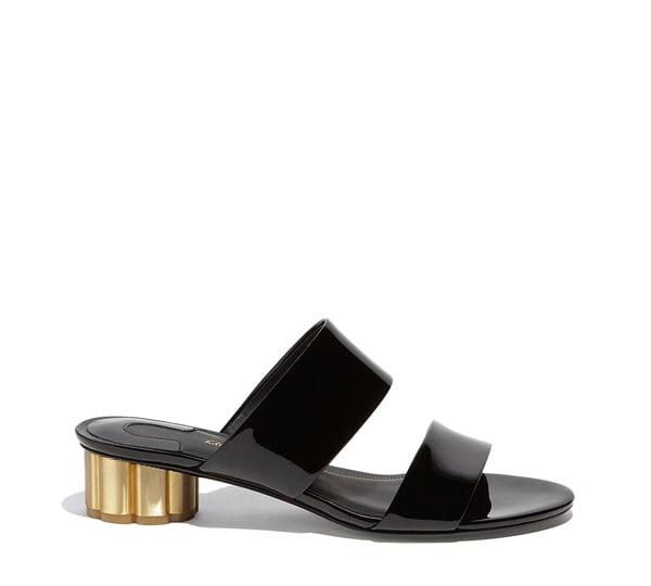 Column Heel Sandal