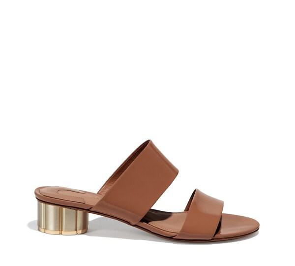Flower Heel Sandal