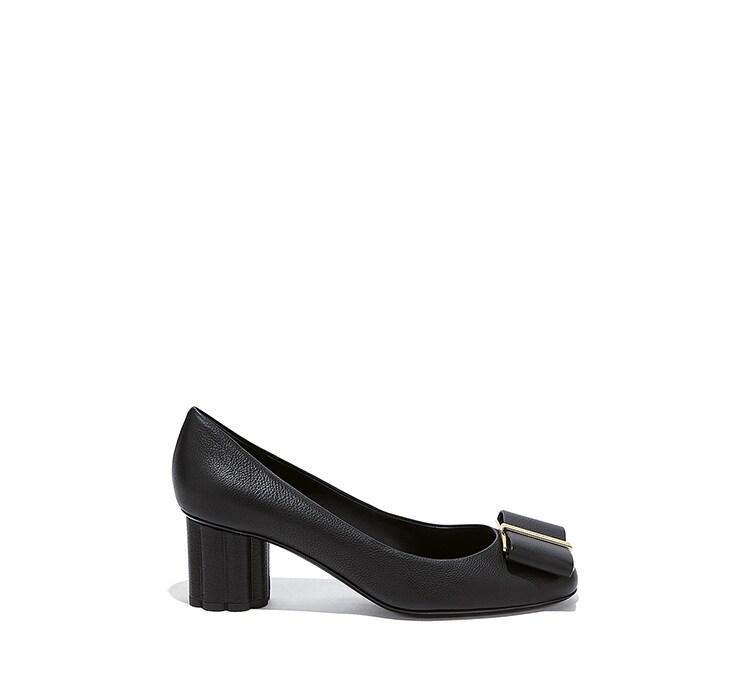 Flower Heel Pump Shoe