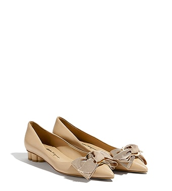 clearance pay with visa Salvatore Ferragamo Satin Lace-Up Flats clearance pre order pay with visa for sale bqLLq7o