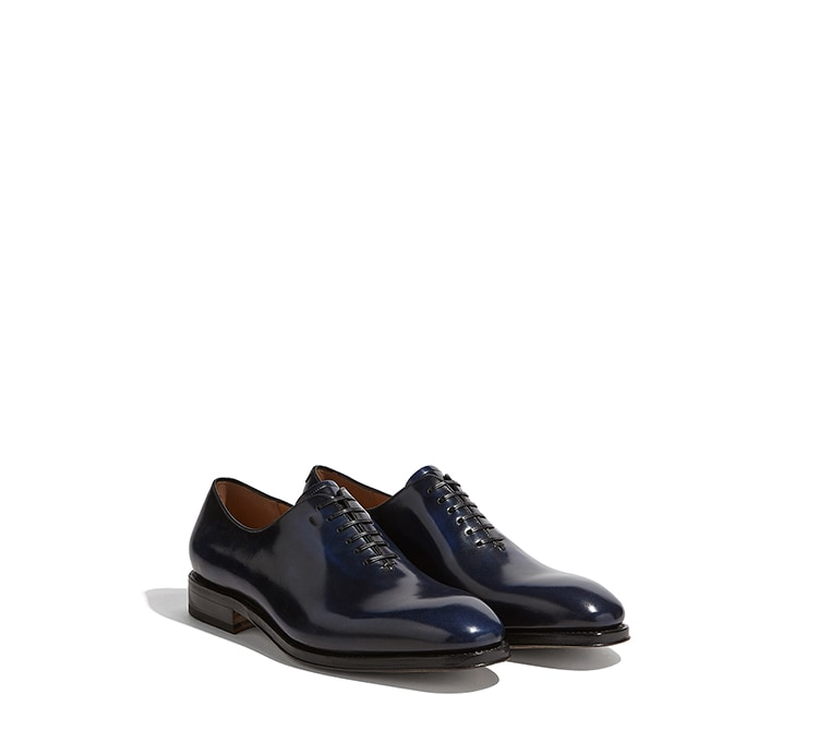 Plain Toe Oxford Shoes by Salvatore Ferragamo
