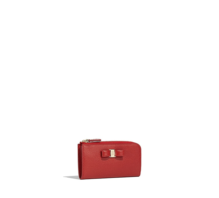 Vara Bow Key Case by Salvatore Ferragamo