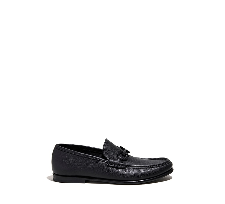 4dc2c6610e8 Gancini Moccasin - Moccasins and Loafers - Shoes - Men - Salvatore ...