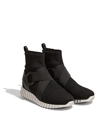 Sneakers a calzino - Black Salvatore Ferragamo 1pqunJeS