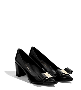 Pumps & High Heels for Women On Sale, Black, Patent Leather, 2017, 2.5 3 3.5 5.5 Salvatore Ferragamo
