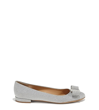 Ballet Flats Ballerina Shoes for Women On Sale, Black, Patent Leather, 2017, 4.5 Salvatore Ferragamo