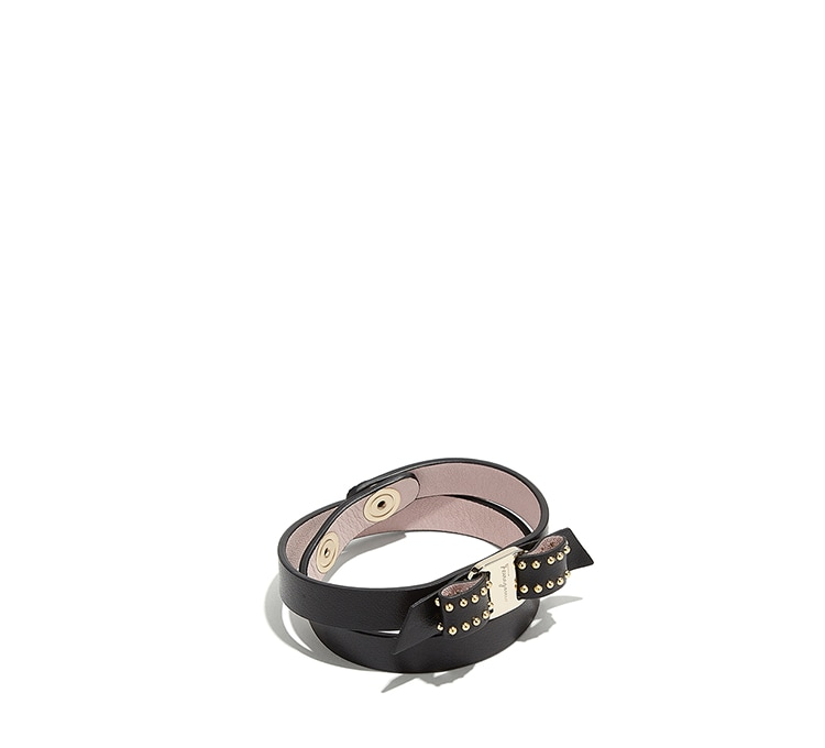 Vara Bow Double Wrap Bracelet by Salvatore Ferragamo