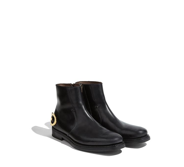 261de7fb2780d Gancini Ankle Boot - Boots - Shoes - Men - Salvatore Ferragamo US