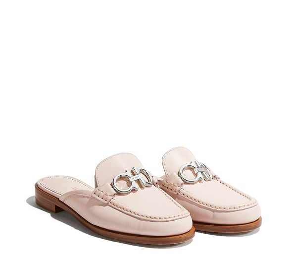 Slipper Mule Gancini by Salvatore Ferragamo