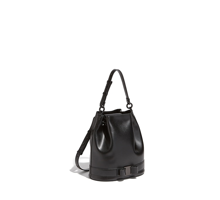 Vara Bow Bucket Bag by Salvatore Ferragamo